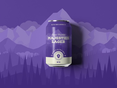Purple Mountain Majesties purple mountain majesties austin committee jay master design halifax north packaging cans beer