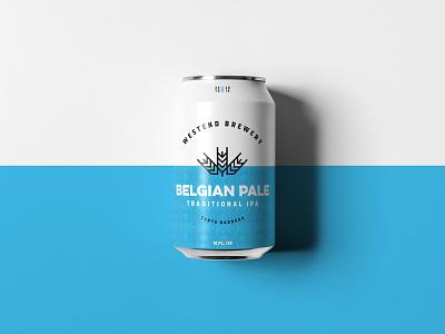 Belgian Pale craft beer california austin committee jay master design westend brewery packaging bottle cans beer