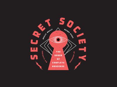 Secret Society skating skateboard package design brand package branding identity logo badges apparel packaging