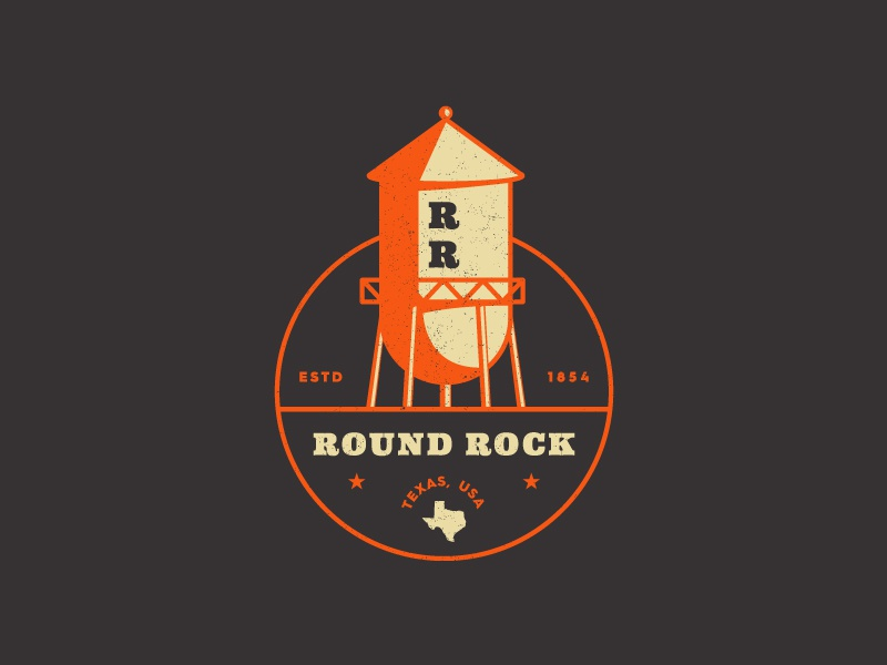 Round Rock package design brand package branding identity logo badges apparel packaging austin round rock texas