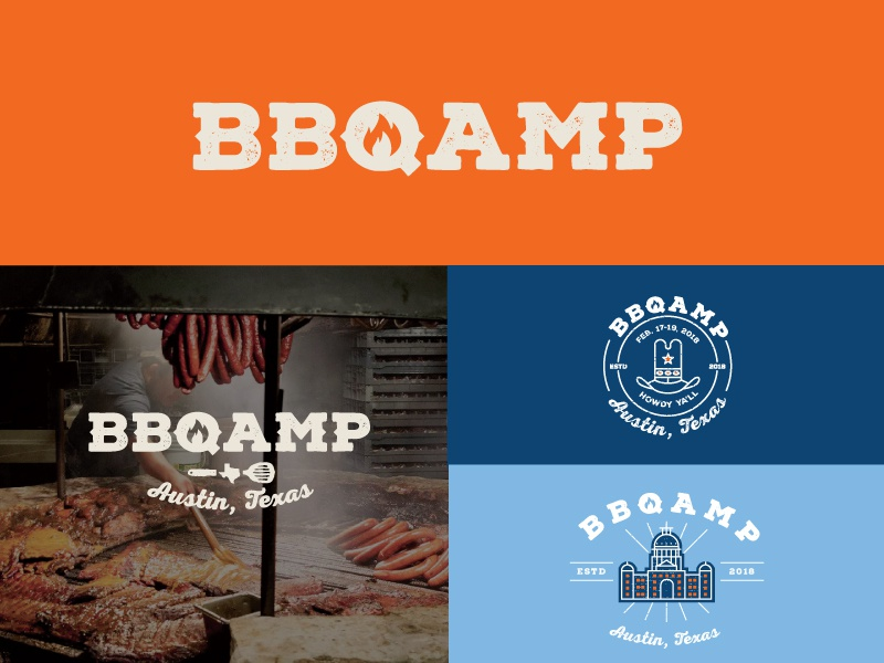 BBQAMP  | Part 3 craft beer restaurant austin committee jay master design icon packaging bbqamp barbecue