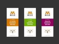 Mile Labels 1600