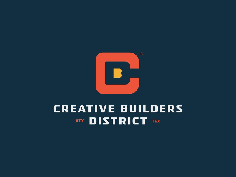 Creative Builders District apparel jay master design web ux ui icon brand package badges typography writing branding packaging identity logo