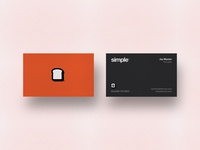 Simple - Business Cards