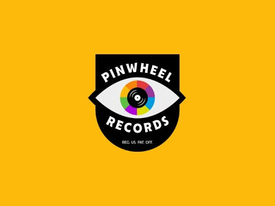 Pinwheel Records jay master design design package badges typography illustration branding packaging identity logo