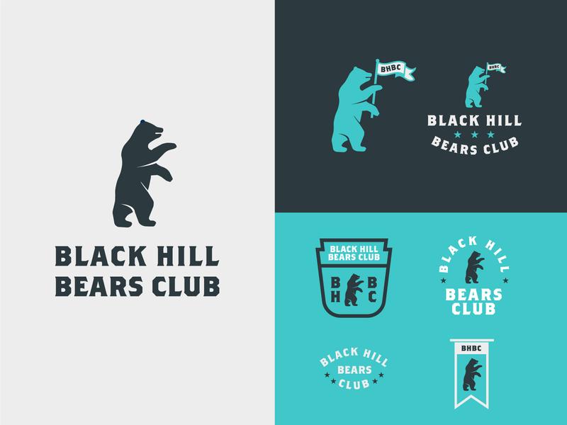 BHBC - Part 2 print monogram badge flag customtype typography jay master design bear package brand design illustration branding packaging identity logo