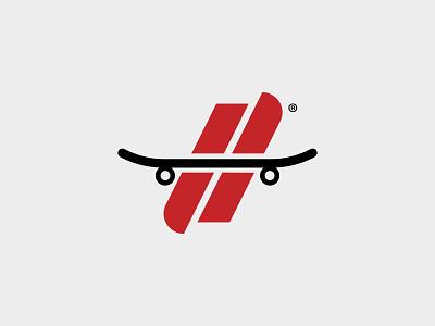 Hesh Skating mockup illustration monogram skate skateboard identity print typography branding packaging logo