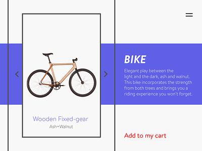 Landing Page landing page dailyui bike