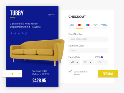 Daily UI challenge #002 — Checkout buy pay paynow 002 day2 checkout challenge dailyui ui daily