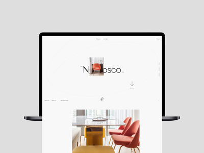 STUDIO16 site minimal interface main promo website design ux ui web