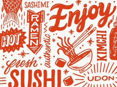 Enjoy Some Sushi