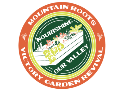 Victory Garden Revival raised bed veggies vegetables illustration valley nourishing project roots mountain food growing cold climate colorado gunnison revival gardening gardener gardens garden victory