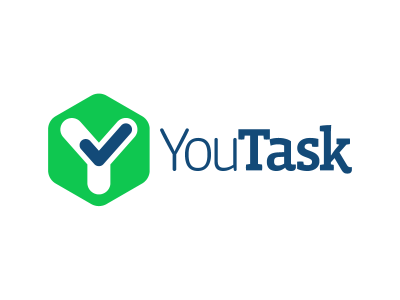 YouTask task todo app check complete hexagon