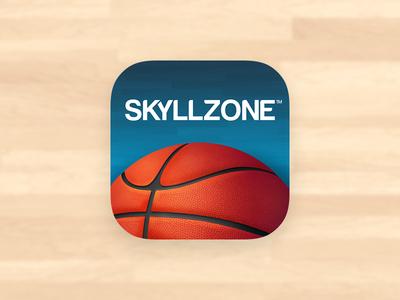 Skyllzone Basketball iOS App Icon