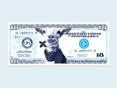 Stupid Farmer Goat Money pivotshare goat money farmer clover hillbillygoat