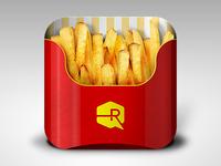 Fries App iOS Icon