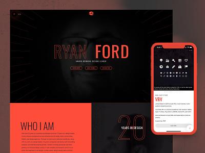 Personal Portfolio — 2018 web ui responsive portfolio website uidesign