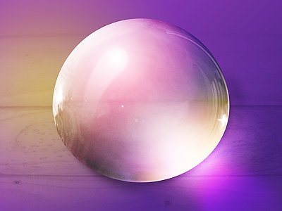 Bubble Practice purple bubble reflection gloss photoshop wood refraction shiny liquid sphere
