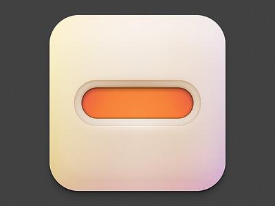 Minus minus gradient gradation ambient lighting orange bezel soft