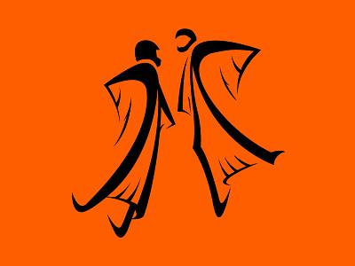 FlyLikeBrick branding sport extreme wingsuit skydiving identity logo
