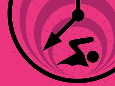 Swimming logo preview logo swimming