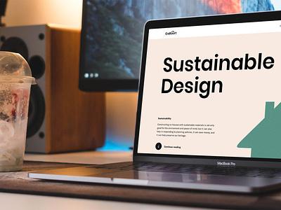 CoBuurt - A online platform for self-building and co-housing illustration design website web design ux ui