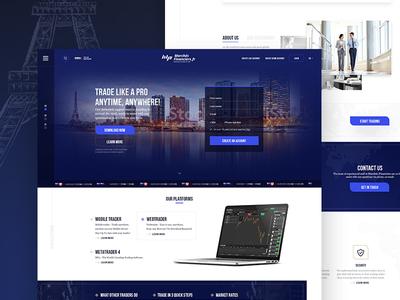 Finance website W.I.P