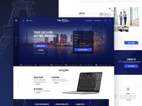 Finance website W.I.P