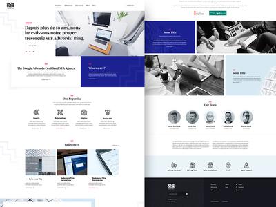 Website for SEA agency W.I.P.