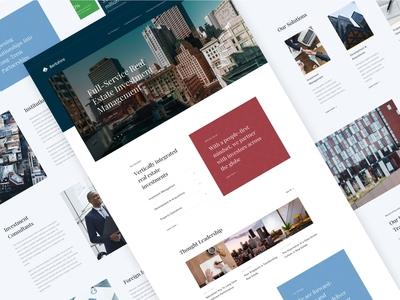 Berkshire Digital Experience - Design Layouts