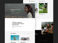 Zeno - PR Agency Website