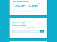 Voting Information UI