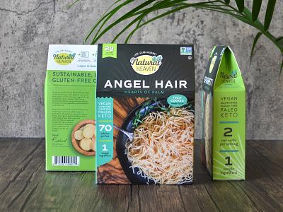 Natural Heaven Packaging palm keto packaging pasta