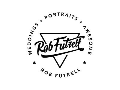 Rob Futrell Logo camera photography logos branding