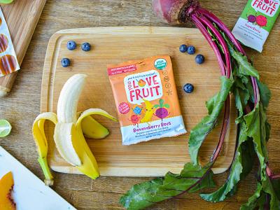 You Love Fruit snacks organic fruit fruit leather fruit snack logo packaging