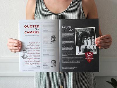 Editorial Design for Flagler Magazine st augustine editorial magazine flagler