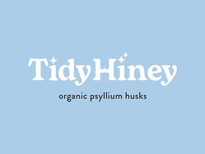 Tidy Hiney Logo supplement butt branding logo