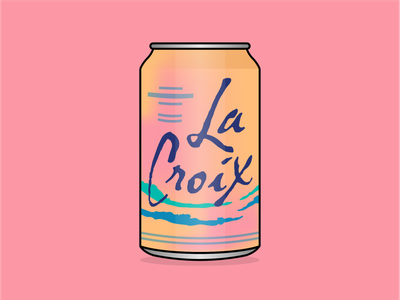 LaCroix water drinks drink brand illustrator adobe art vector illustration lacroix