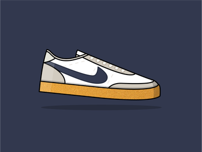 Nike Killshot 2's killshot 2 nike shoes design art vector illustration