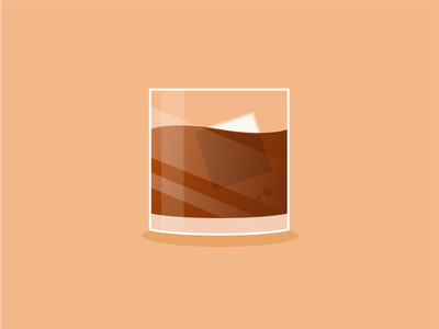 Whiskey happy hour irish whiskey whiskey iconography design art vector illustration