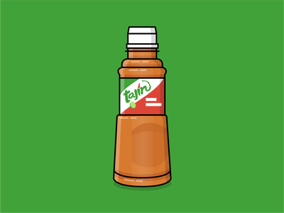 Tajin iconography icon brand art vector illustration