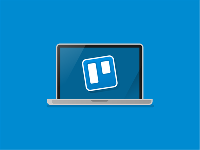 Trello trello design app iconography icon branding brand art vector illustration
