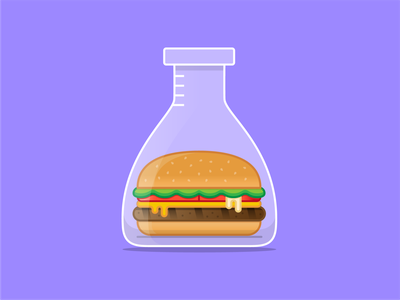 Impossible Whopper daily impossible burger burger king burger design iconography icon art vector illustration