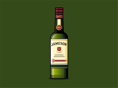 Jameson irish whiskey irish jameson design branding brand iconography icon art vector illustration
