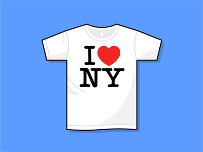 First Day in NYC tshirt nyc ny new york city new york branding brand iconography icon art vector illustration