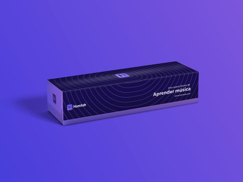 Packaging design for Hontah inspiration music package design box packagingpro packagingdesign packaging packagedesign package
