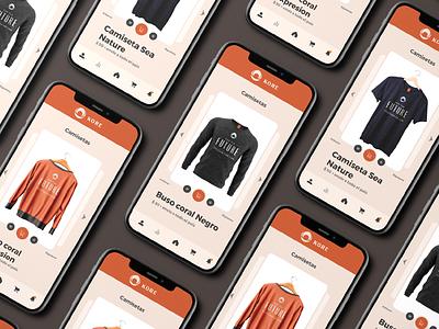KORE CLOTHING STORE ui design ux ui design mobile apps branding ux design mobile inspiration interface design mobile app mobile ui app ui uiux ux interface