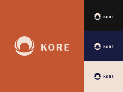 Kore branding minimal icon vector graphic design brand identity branding logo design brand inspiration