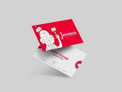 Jeronimos cake shop - Business Card