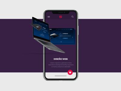 Infrarojo web design